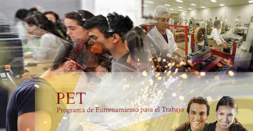 Programa de Entrenamiento para el Trabajo (PET)