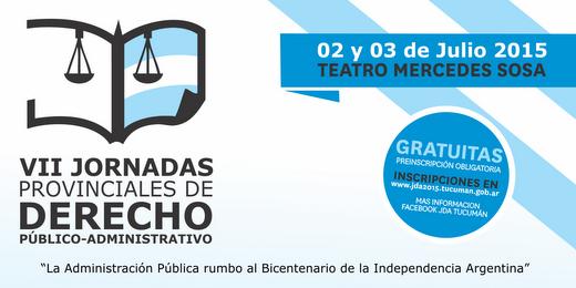 VII Jornadas Provinciales de Derecho