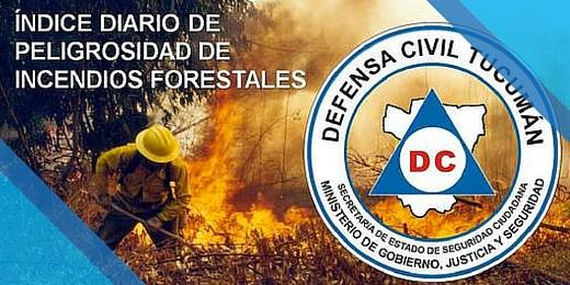 Indice de peligrosidad de Incendios Forestales